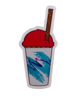 Cherry Water Ice Sticker