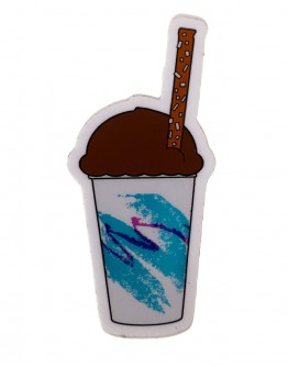Chocolate Water Ice Sticker