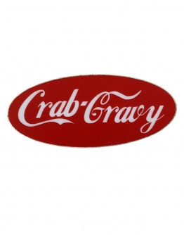 Crab Gravy Sticker