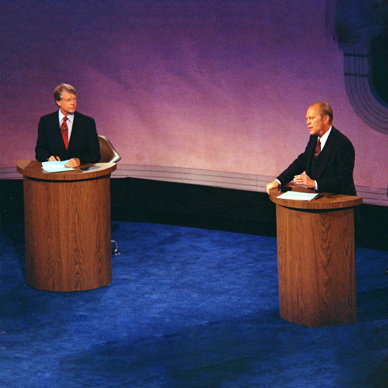 The 1976 Presidential Master Debates at the Walnut Street Theater