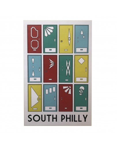 South Philly Doors Poster 11x17