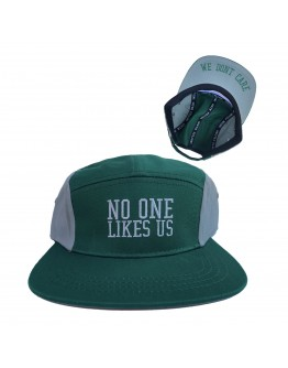 No One Likes Us, We Don't Care Hat (green)