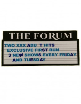 The Forum Sticker