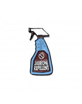 Jabroni Repellent (Maroon) Pin