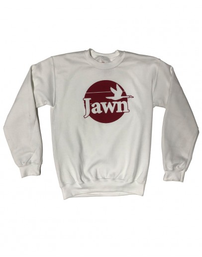 Wawa Jawn Sweatshirt (White/Red)