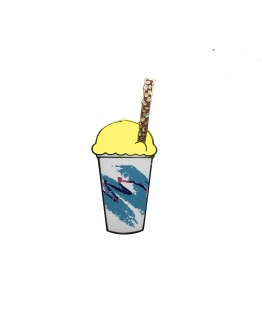 Lemon Water Ice Pin