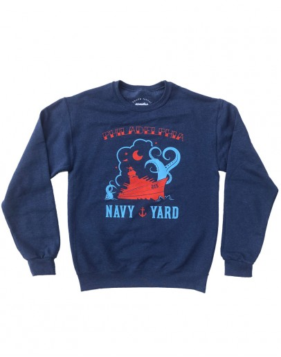 Navy Yard Sweatshirt