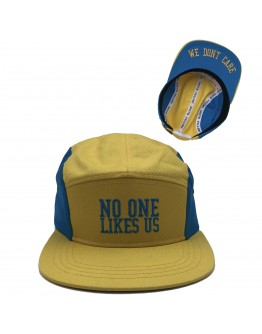 No One Likes Us, We Don't Care Hat (gold)