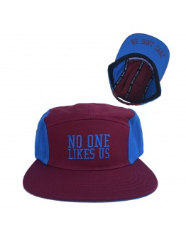 No One Likes Us, We Don't Care Hat (maroon)