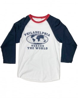 Versus The World (Blue Raglan)