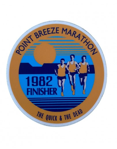 Point Breeze Marathon Sticker