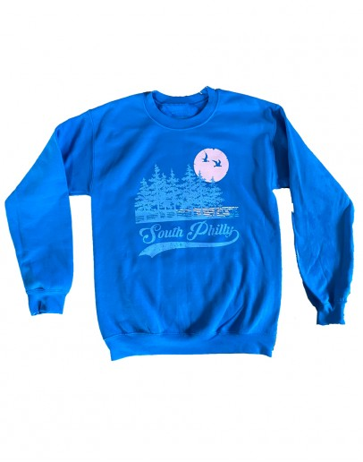 South Philly Pines Blue Sweatshirt