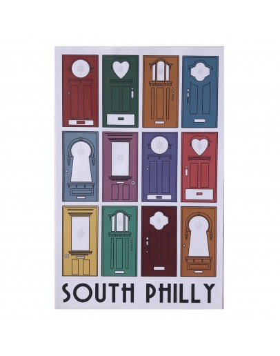 South Philly Star Doors Poster 11x17