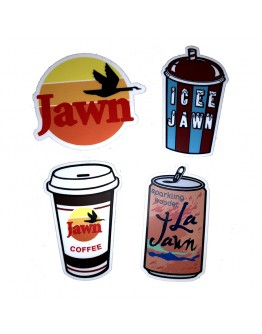 Jawn Drink Stickers
