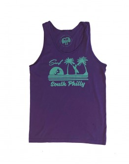 Surf South Philly Men's Tank Top