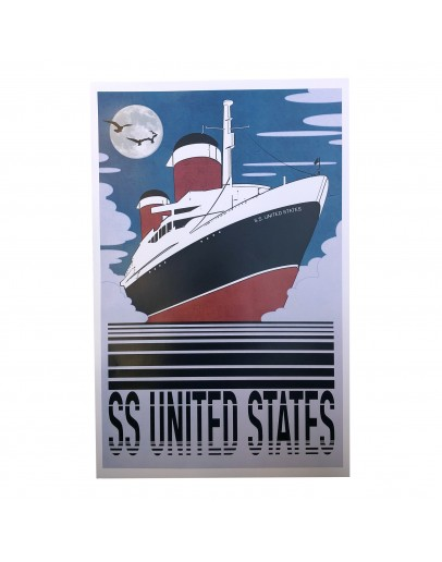 SS United States Poster 11x17