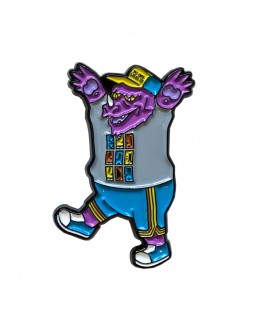 Wild Jawn (Purple) Pin